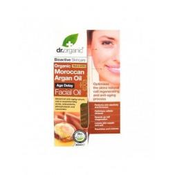 Dr Organic - Siero per il viso all'Olio di Arga