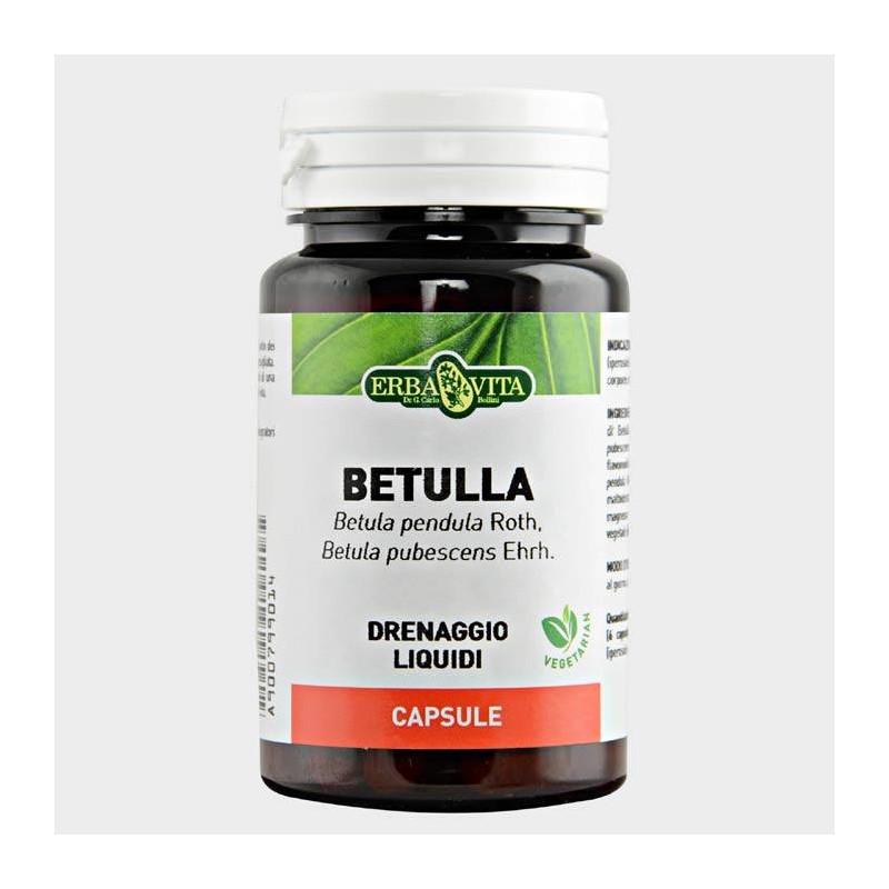 Betulla 60 capsule | Erba Vita