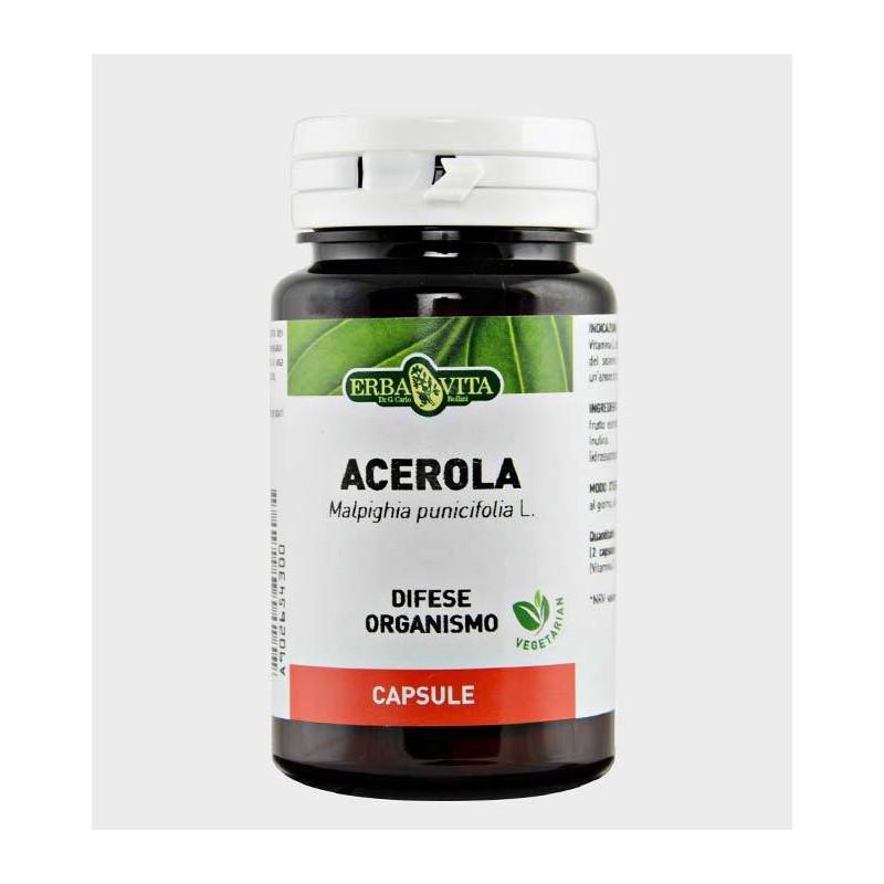 Acerola 60 capsule | Erba Vita