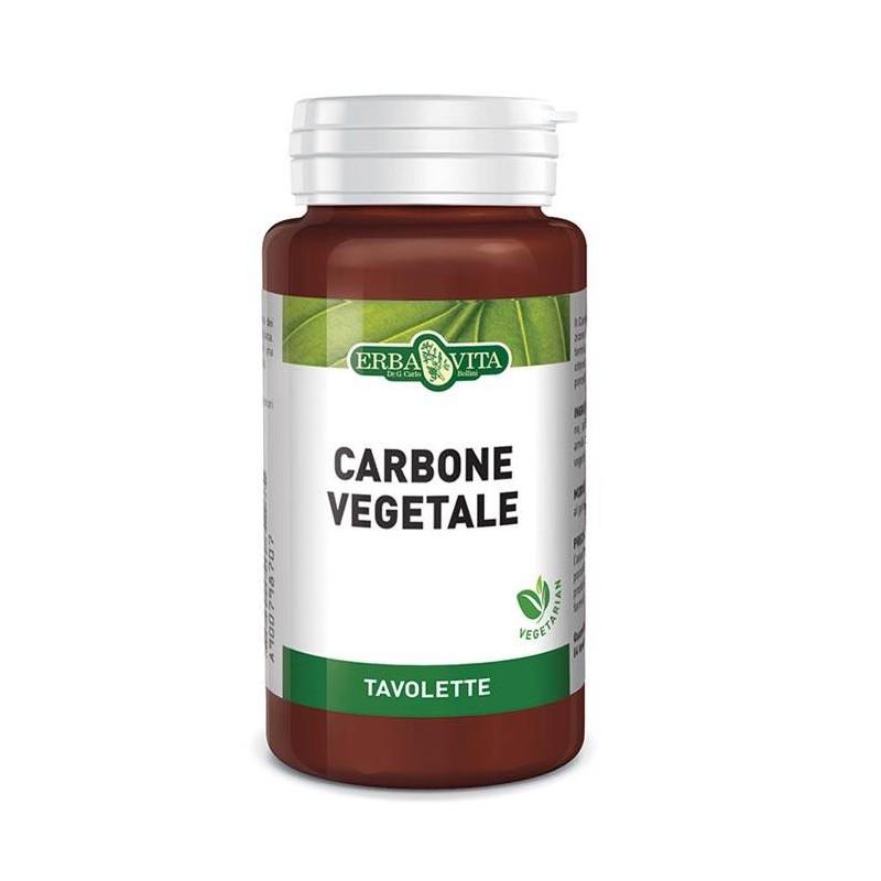 Carbone vegetale 100 compresse | Erbavita