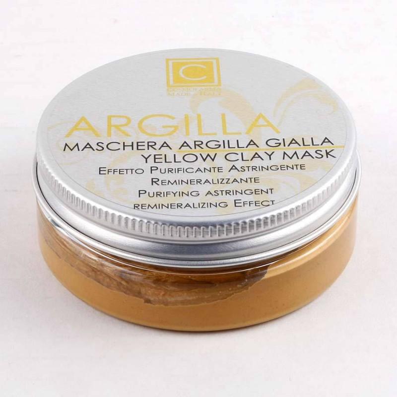 Maschera Argilla Gialla 50ml
