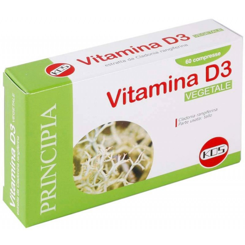Vitamina D 3 Vegetale - 60 compresse Kos