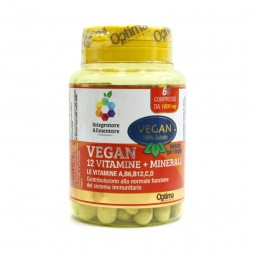 Optima Naturals - Vegan 12 Vit. 60cpr