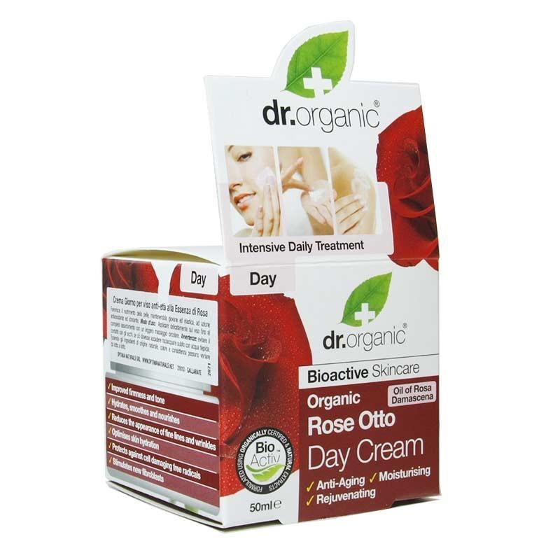 Crema Giorno Rosa otto - Dr Organic