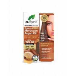Dr Organic - Olio puro di Argan 50ml