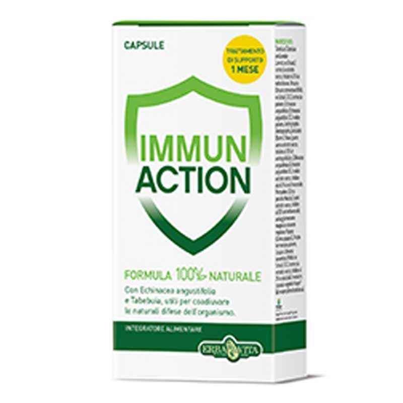 Immun action 60 capsule - Erbavita