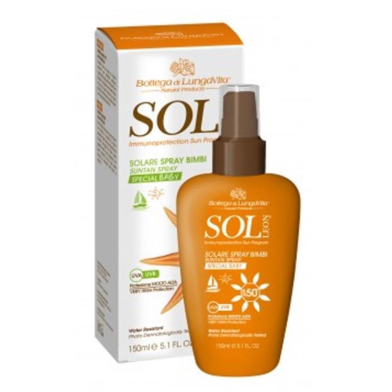 Solare Spray Bimbi spf 50 - Sol Leon