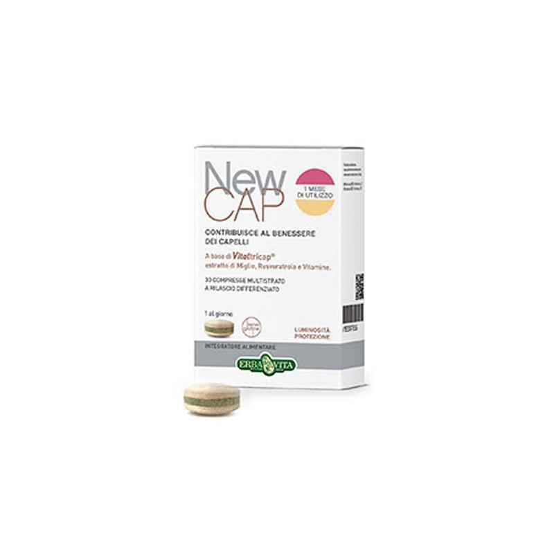 Newcap integratore anticaduta 30 compresse - Erbavita