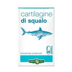 Cartilagine di squalo 60 capsule - Erbavita