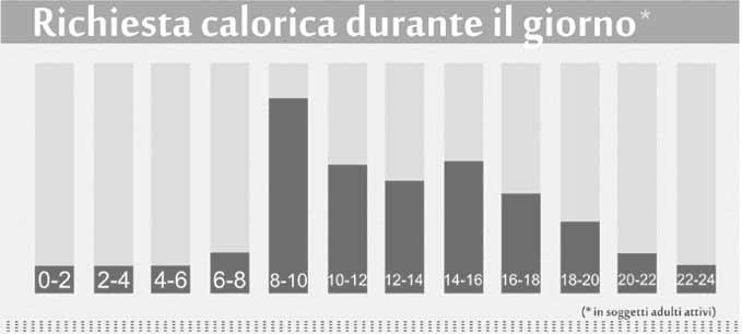 consumo calorico giornaliero