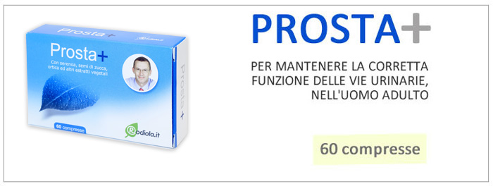 prosta+ contro prostata ingrossata